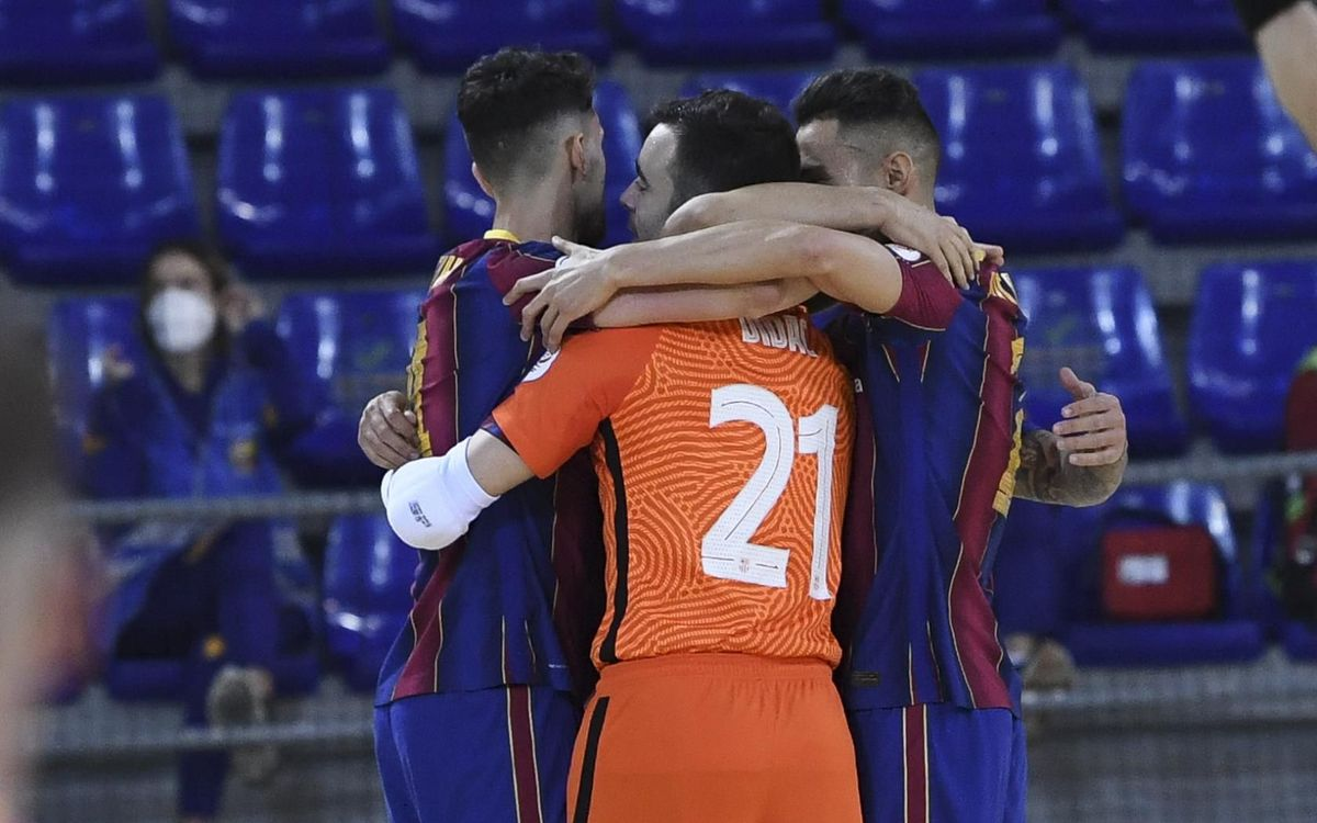 Barça 3-1 Betis Futsal: Confident victory