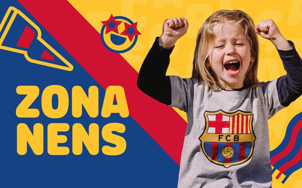 Bienvenido a la Zona Nens del FC Barcelona!
