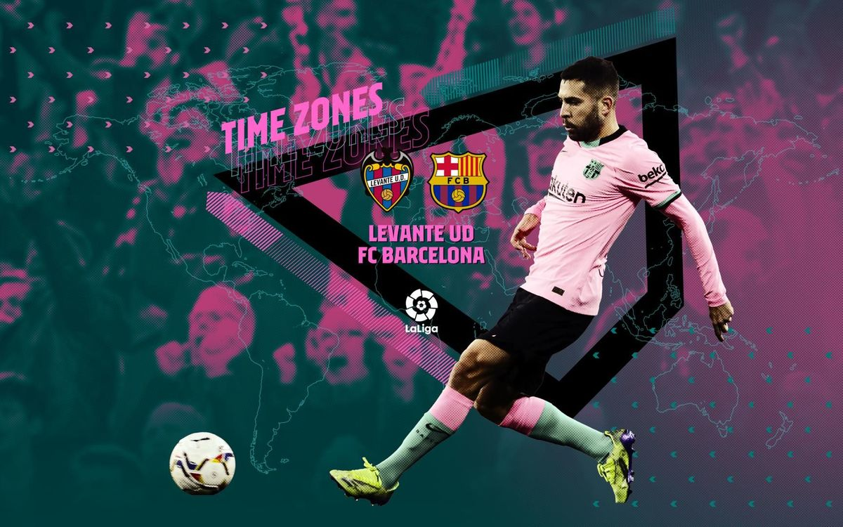 When and where to watch Levante v FC Barcelona