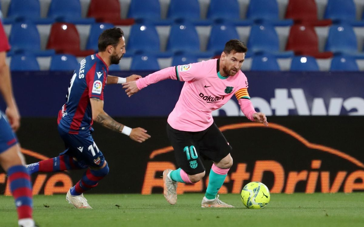 Levante - Barça: Se complica la Liga (3-3)