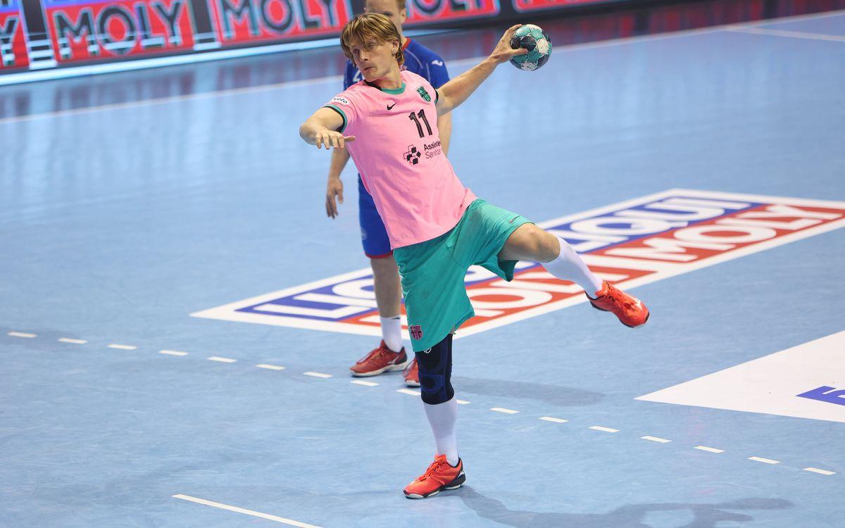 Meshkov Brest-Barça: Con ventaja para afrontar la vuelta (29-33)