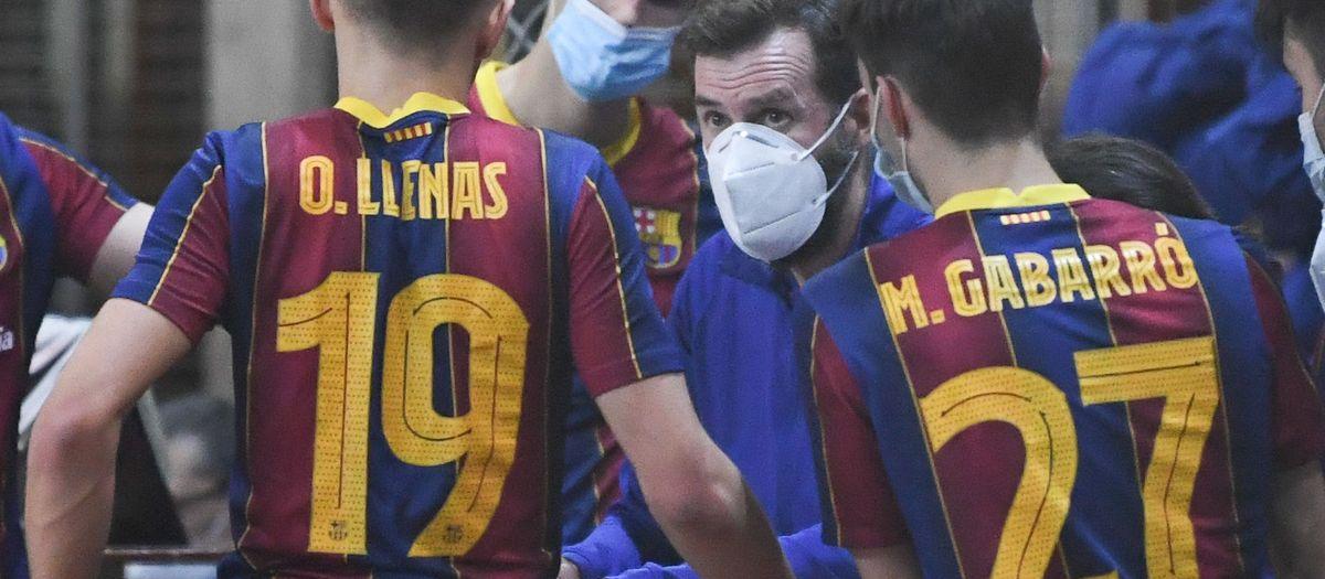 El Barça B finaliza el OK Plata en una meritoria quinta posición