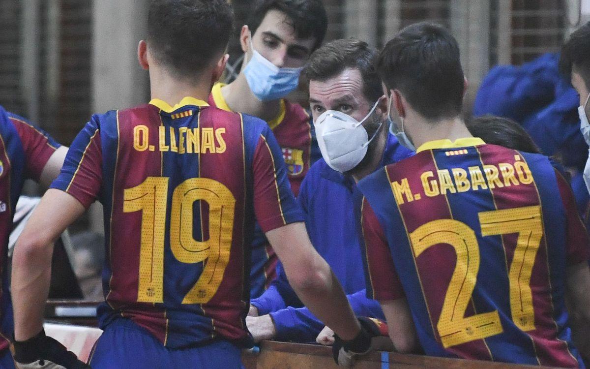 El Barça B finalitza l'OK Plata en una meritòria cinquena posició