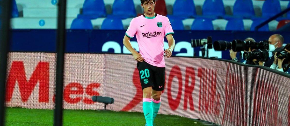 Sergi Roberto has thigh injury