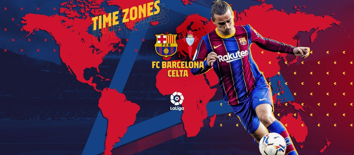 When and where to watch Barça v Celta