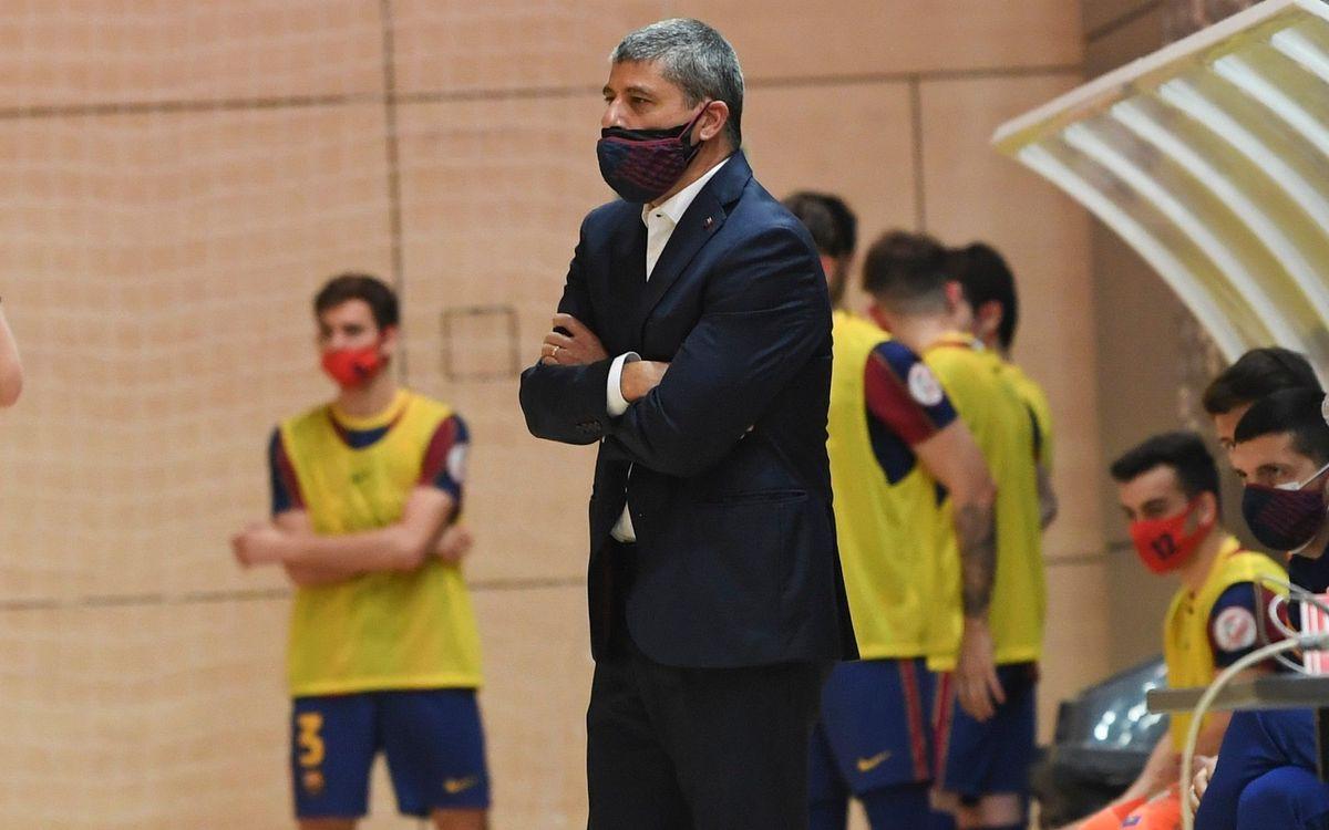 """Xavi Closas: """"Em quedo amb l'evolució de l'equip"""""""