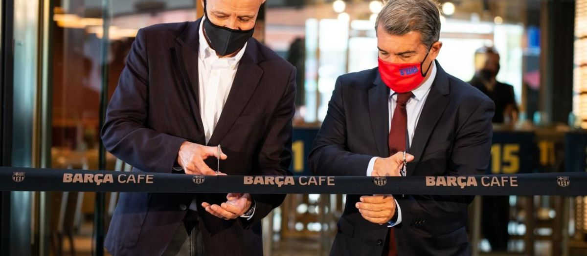 New Barça Cafe sports bar opens at Camp Nou