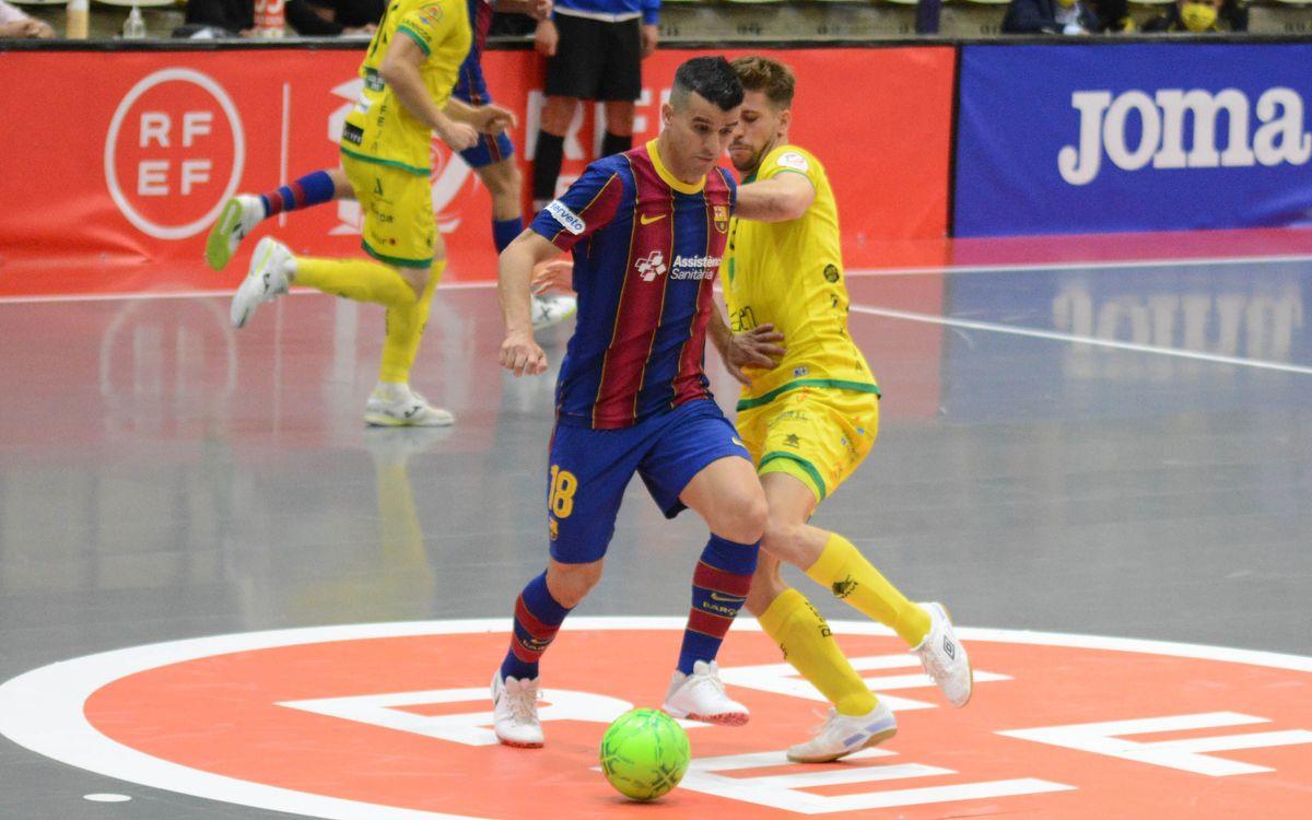 Jaén - Barça: Cop dur a l'últim segon (2-2)