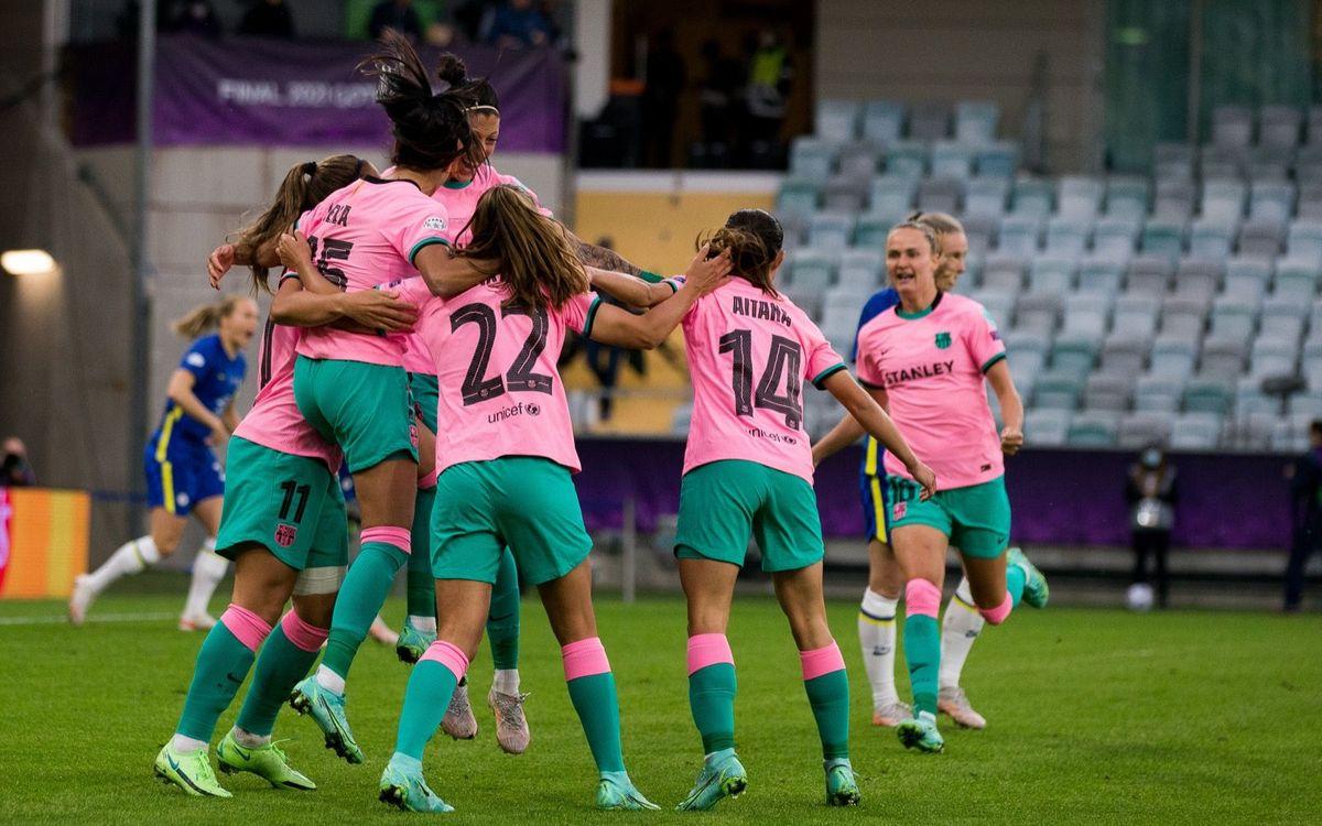 FC バルセロナ、男女共にチャンピオンズリーグで勝ったことのある初クラブ