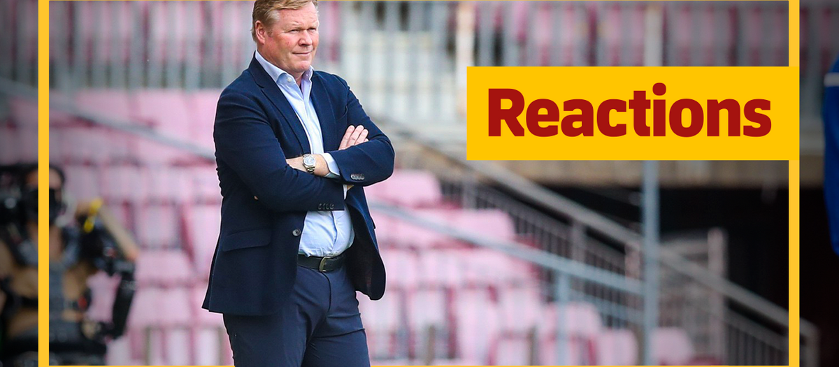 Koeman: 'The final result doesn't represent all the effort we put in'