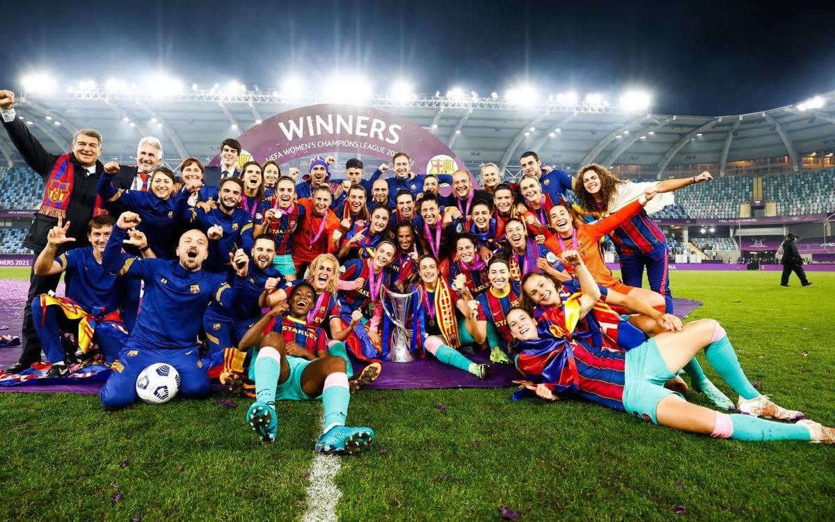 チェルシー – FC バルセロナ: ヨーロッパチャンピオン! (0-4)