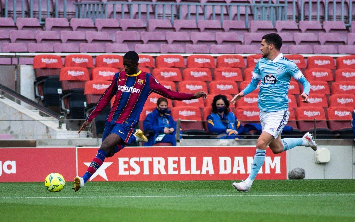 Barça 1-2 Celta: Title hopes over