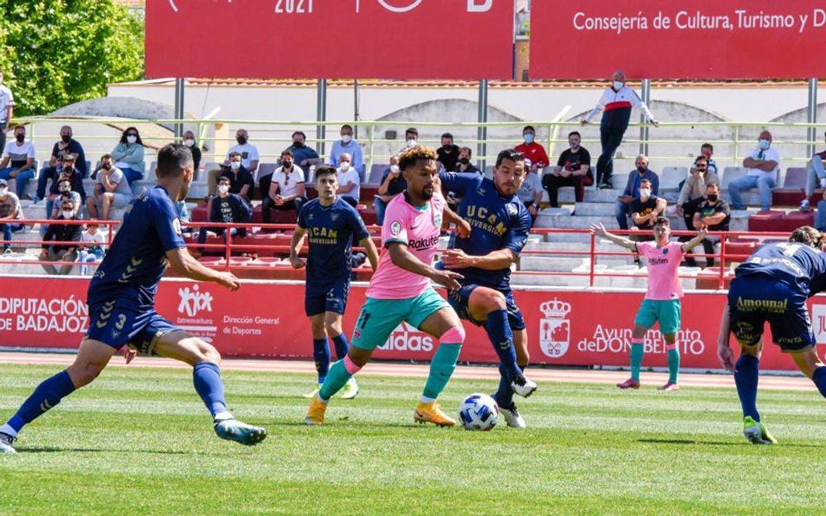 UCAM Múrcia 2-2 (5-4) Barça B: Beaten but proud