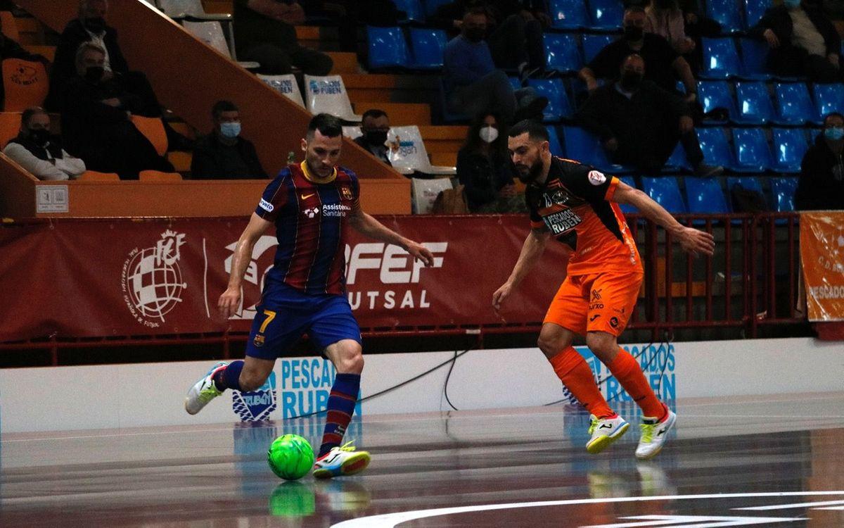 Burela - Barça: Reprenen el camí del triomf (1-4)
