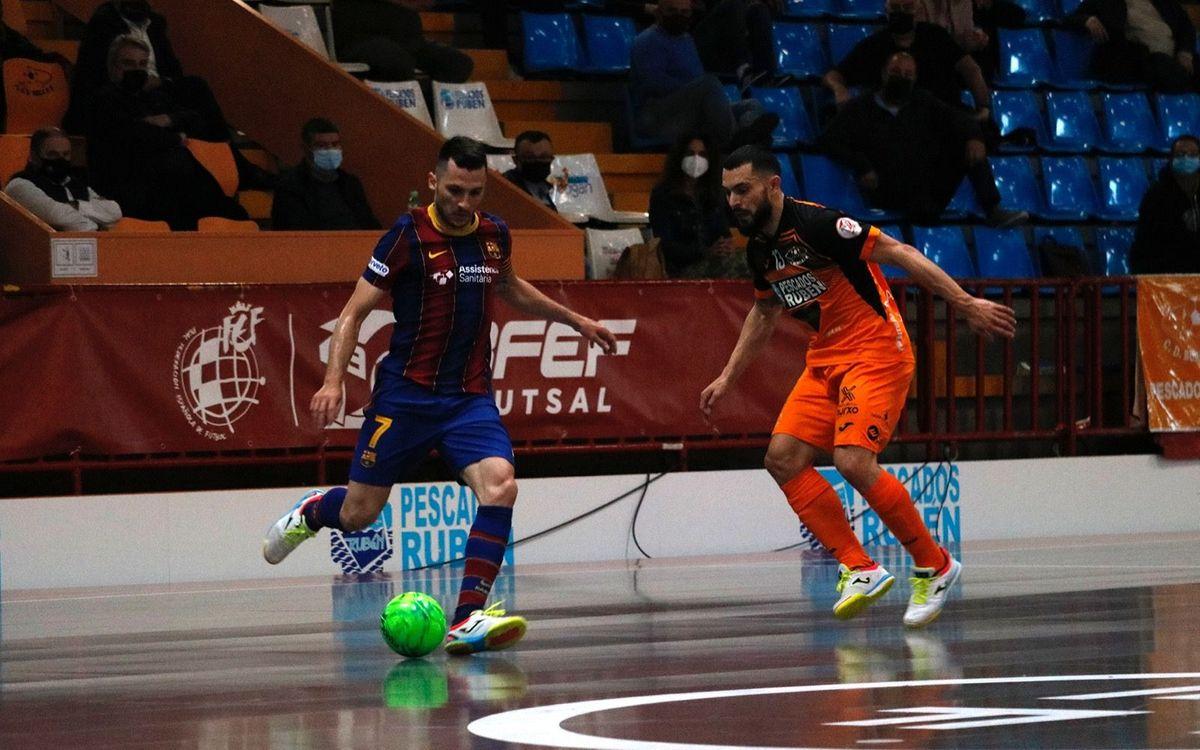 Burela 1-4 Barça: Back to winning ways