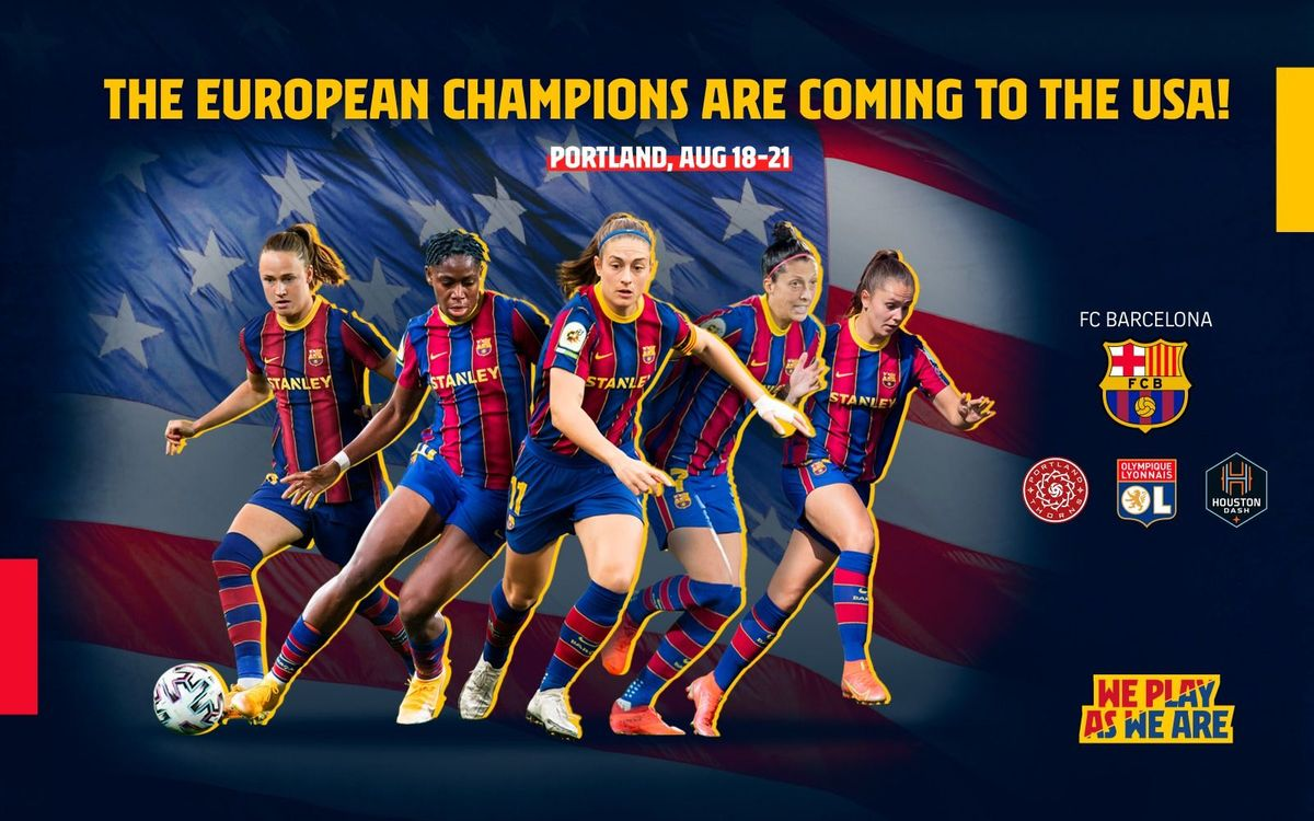 Barça Women to play in Women's International Champions Cup in the US