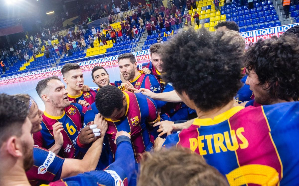Barça - Meshkov Brest: ¡Rumbo a la Final4! (40-28)