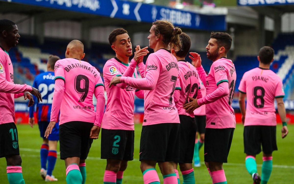 Eibar – FC Barcelona: Griezmann tanca la Lliga amb victòria (0-1)