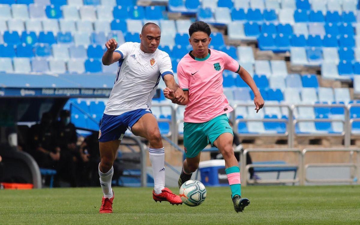 Saragossa-Juvenil A: Empat a La Romareda que ho deixa tot obert (0-0)