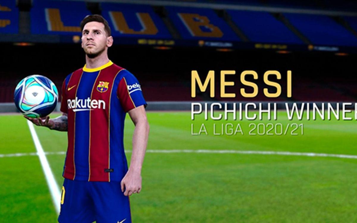 Messi's top five goals of 20/21 ... recreated!