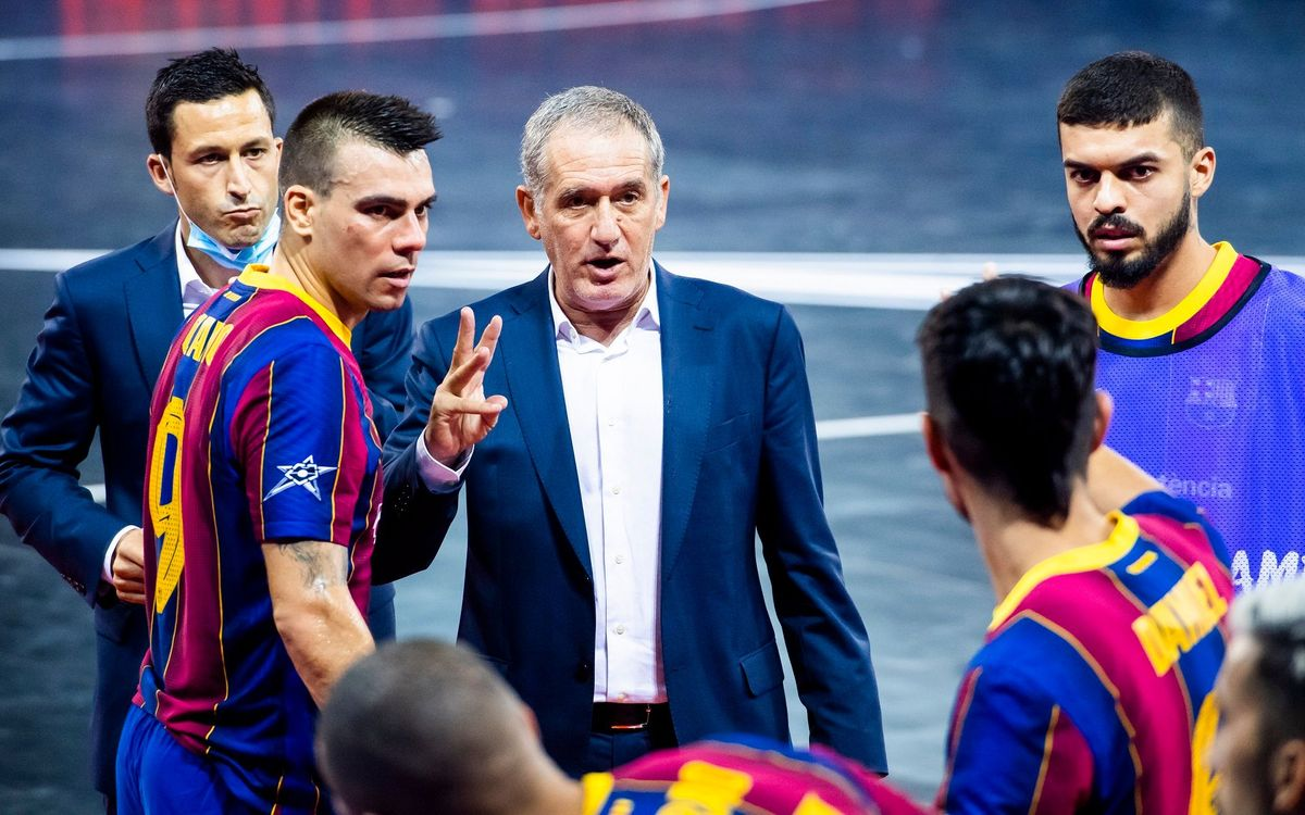 Barça inform Andreu Plaza that he will not be coach for next season