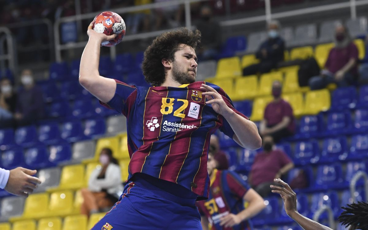 Barça 39-23 Fraikin Granollers: The derby is blaugrana!