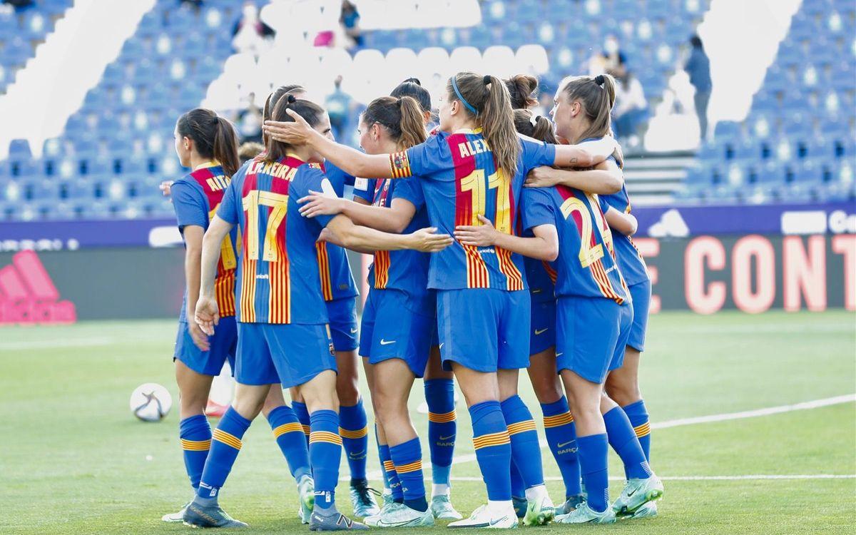 Madrid CFF - FC Barcelona Femení: Més a prop del títol de Copa! (0-4)