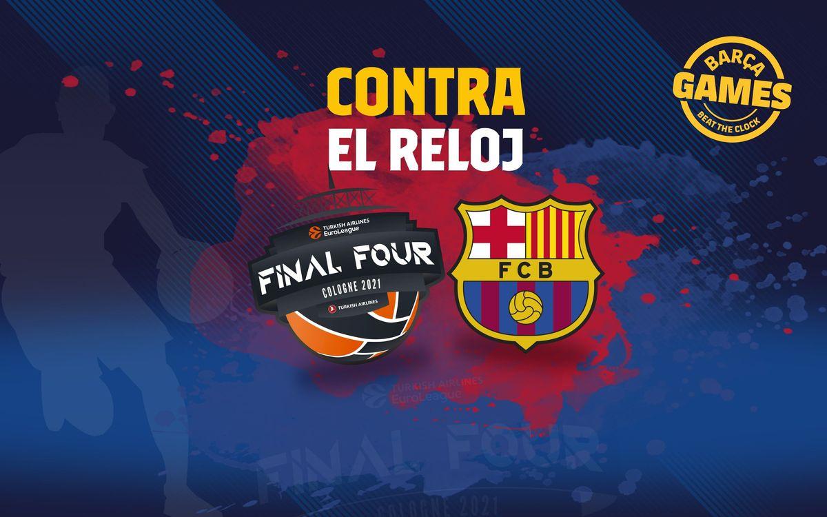 CONTRA EL RELOJ | Nombra los jugadores que han ganado una Euroliga con el FC Barcelona