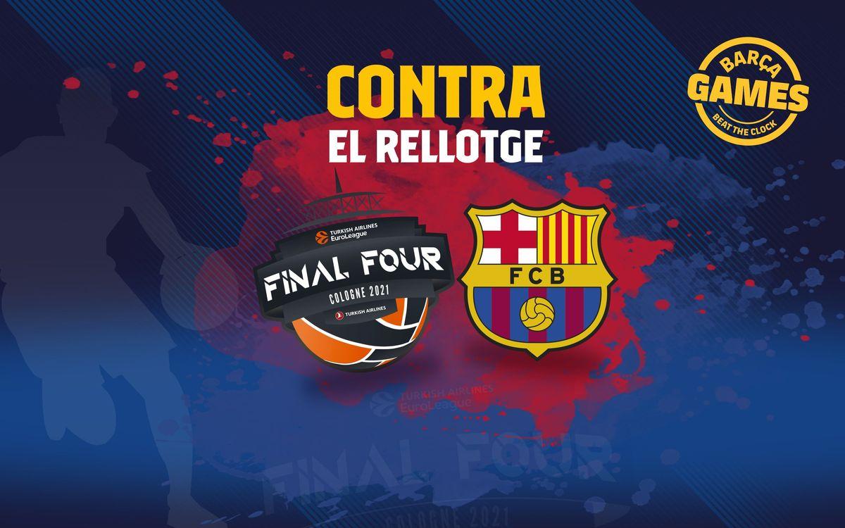 CONTRA EL RELLOTGE | Anomena els jugadors que han guanyat una Eurolliga amb el FC Barcelona