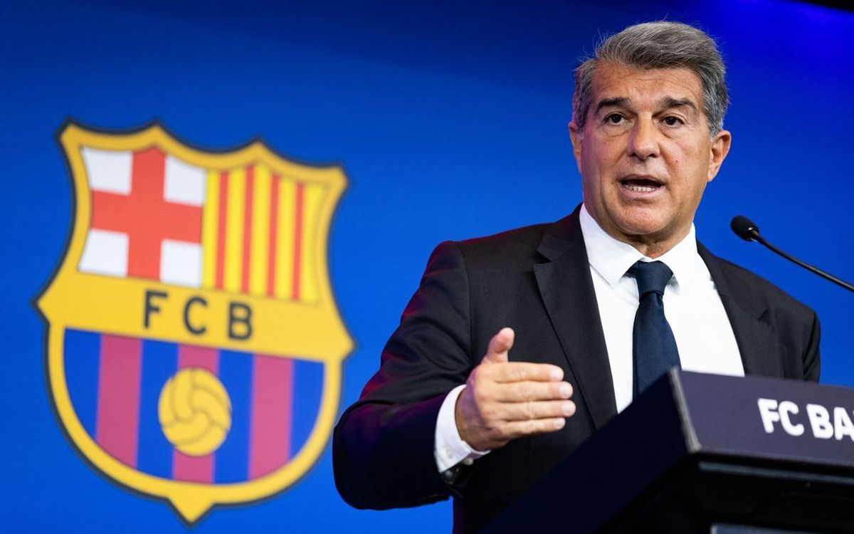 Joan Laporta sends a message of 'patience, optimism and conviction' to Barça fans