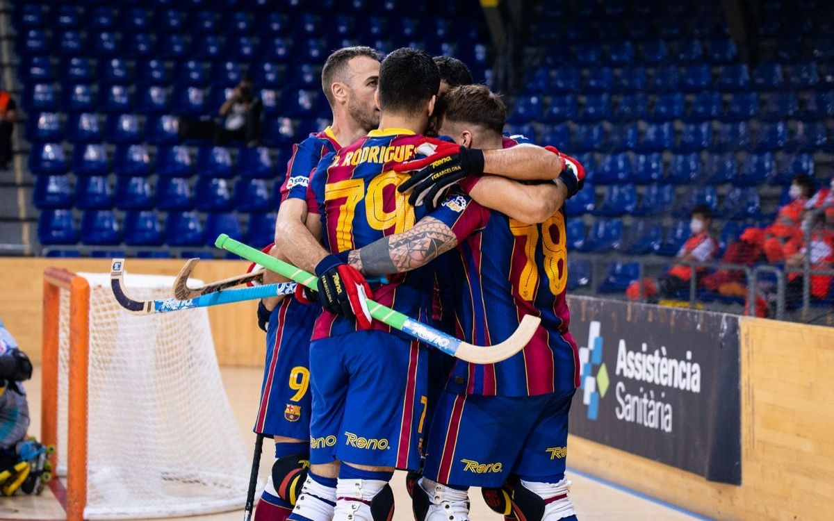 Barça - Voltregà: Fiesta azulgrana para concluir la Liga (5-2)