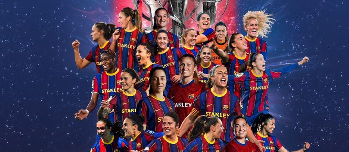 Le Barça Féminin réussit le triplé historique