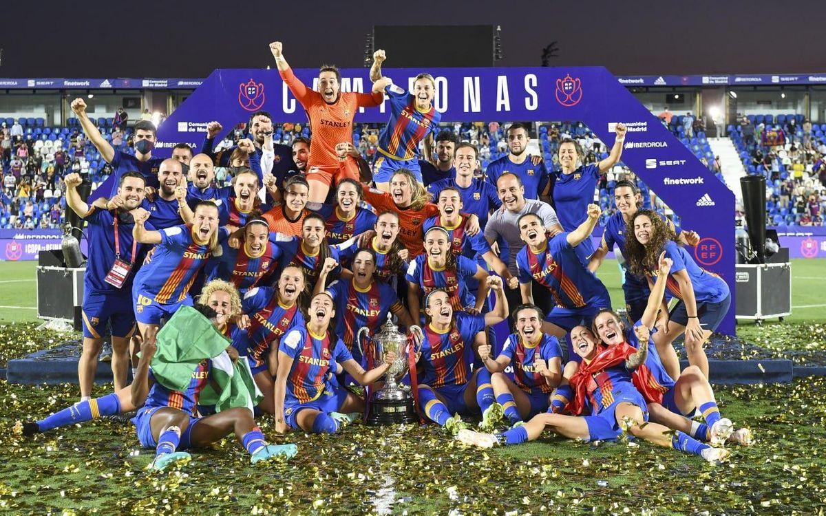 Barça Women 4-2 Levante: Cup champions!
