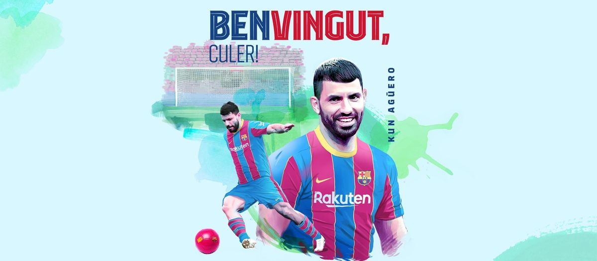 El FC Barcelona fitxa el Kun Agüero