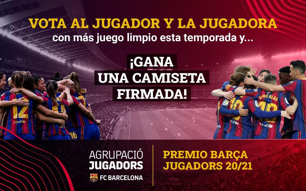 Comienza el periodo de votaciones por el 13º Premio Barça Jugadores