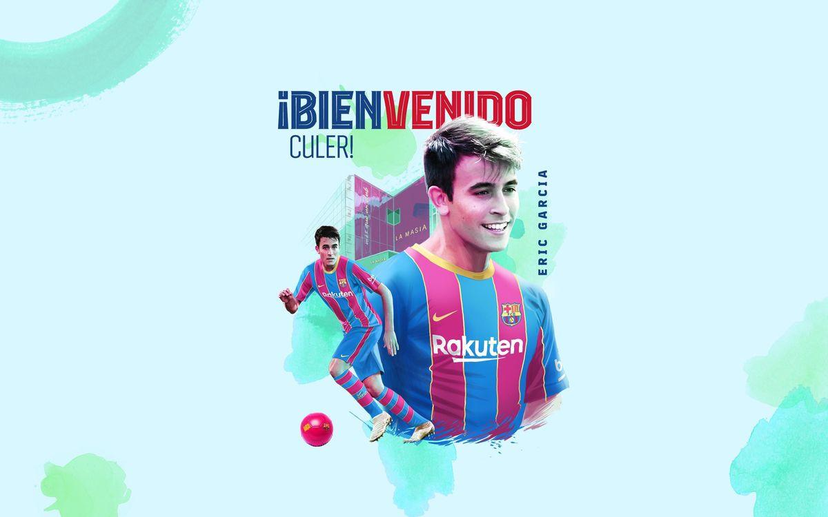 Eric Garcia, segundo fichaje del Barça