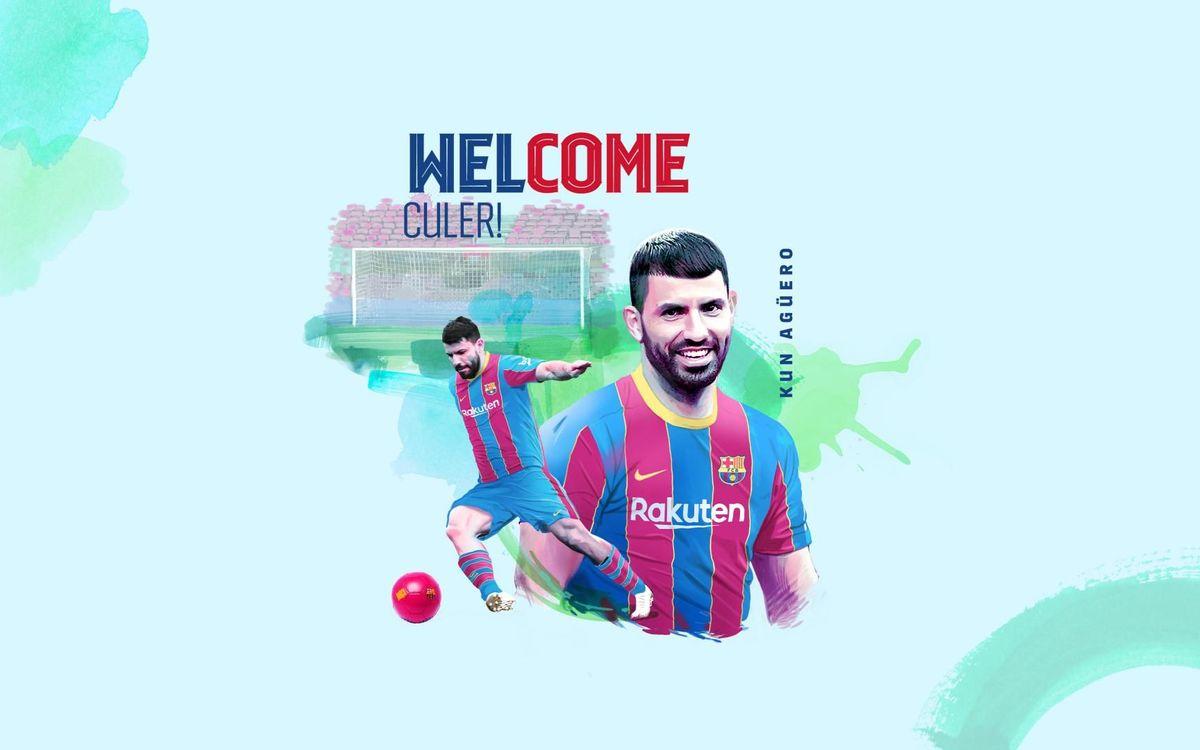 Le Barça recrute Kun Agüero