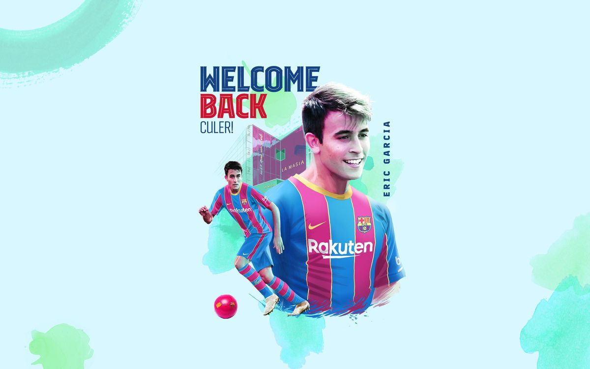 Eric Garcia is FC Barcelona's second signing