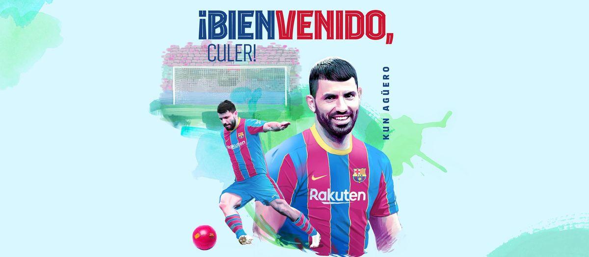 El FC Barcelona ficha al Kun Agüero