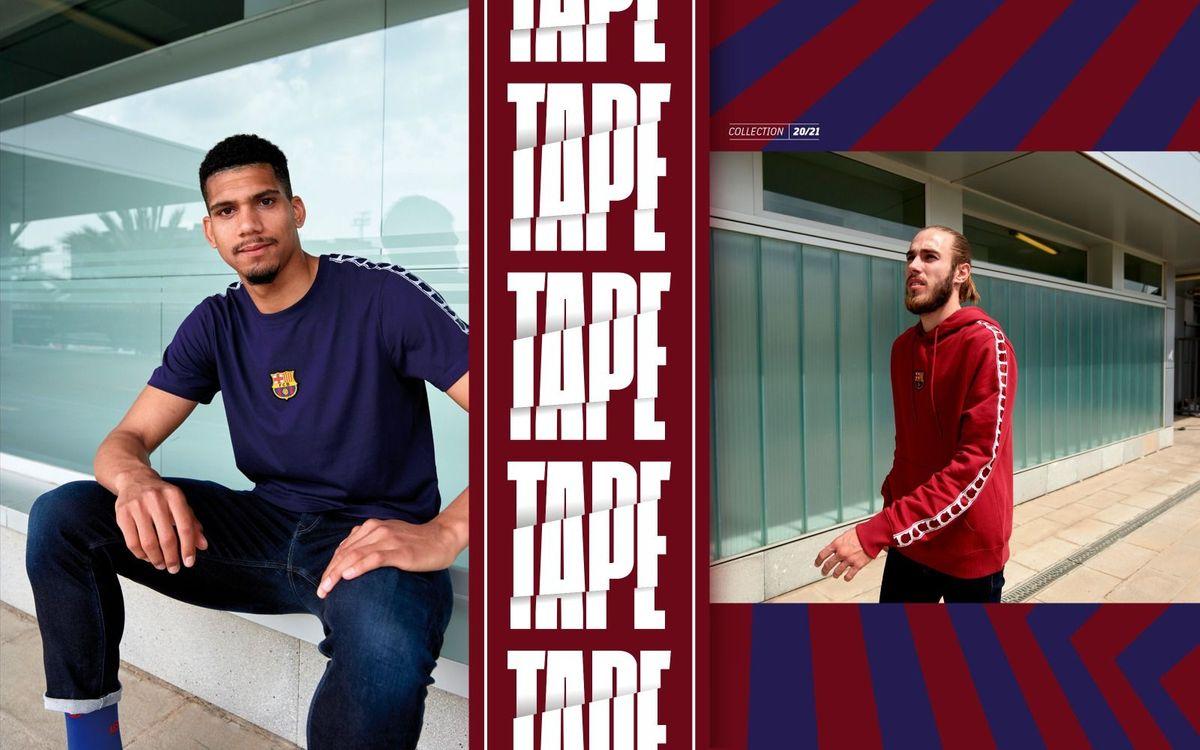 Mingueza and Araujo model Barça's new urban look