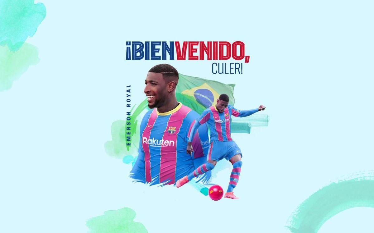 El FC Barcelona ficha a Emerson