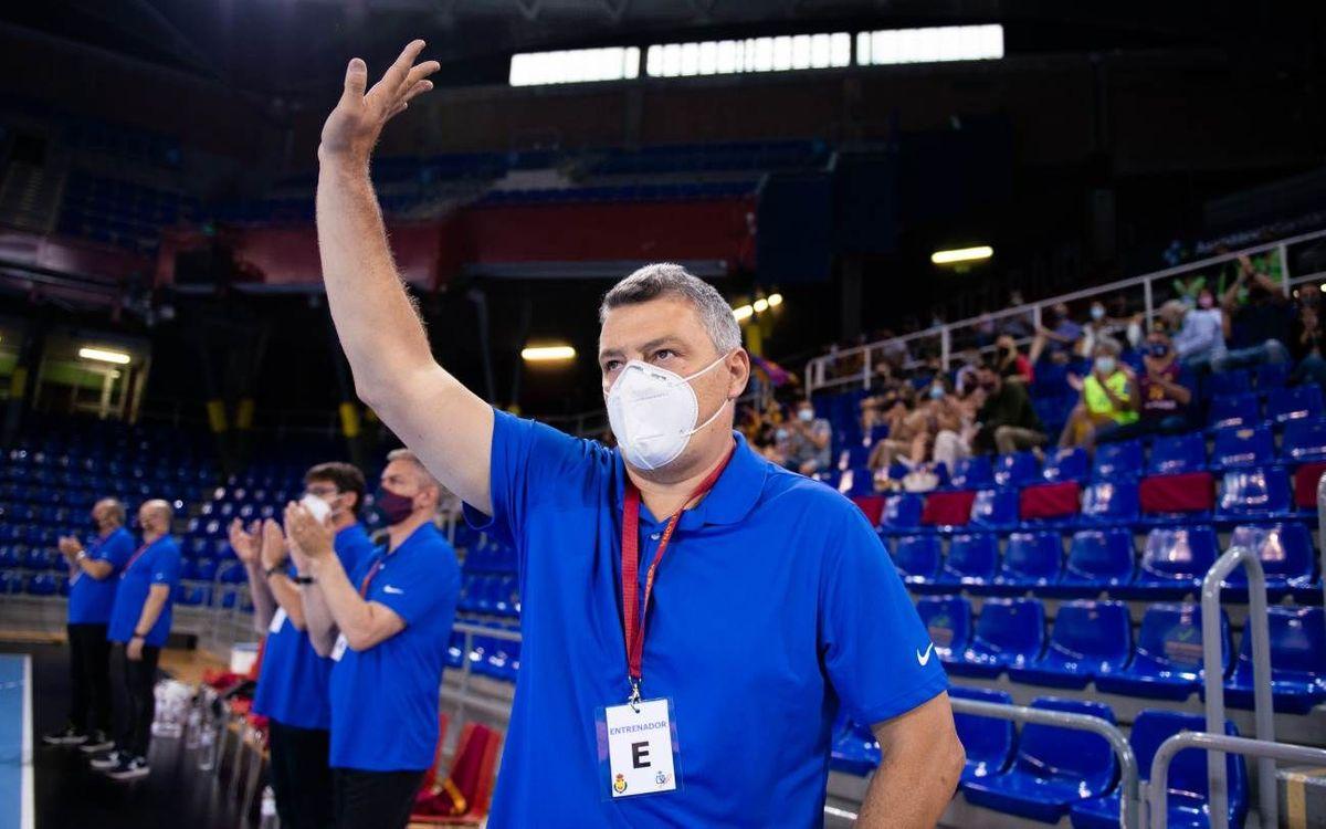 Xavi Pascual will coach Dinamo Bucharest