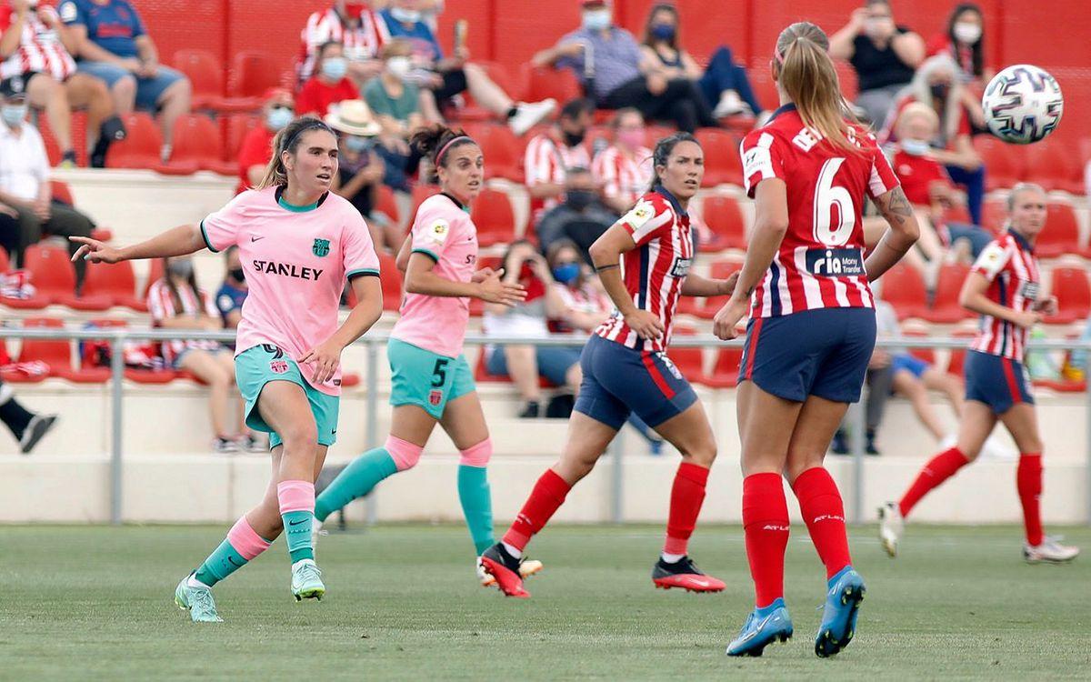 Atlético Madrid 4-3 FC Barcelona: First league defeat