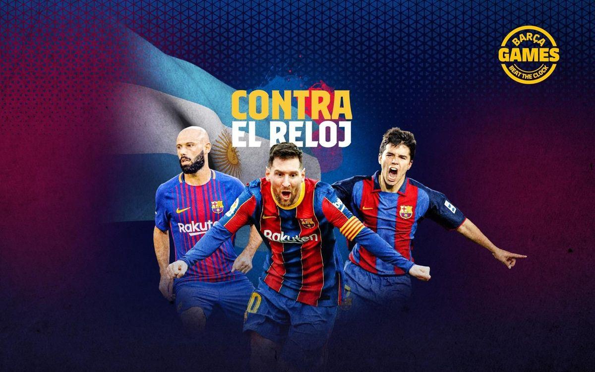 CONTRA EL RELOJ | Nombra los argentinos que han estado en el Barça en el s. XXI