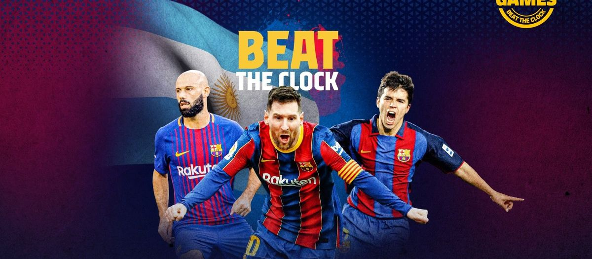BEAT THE CLOCK   Name the Argentinians who have played for Barça in the 21st century