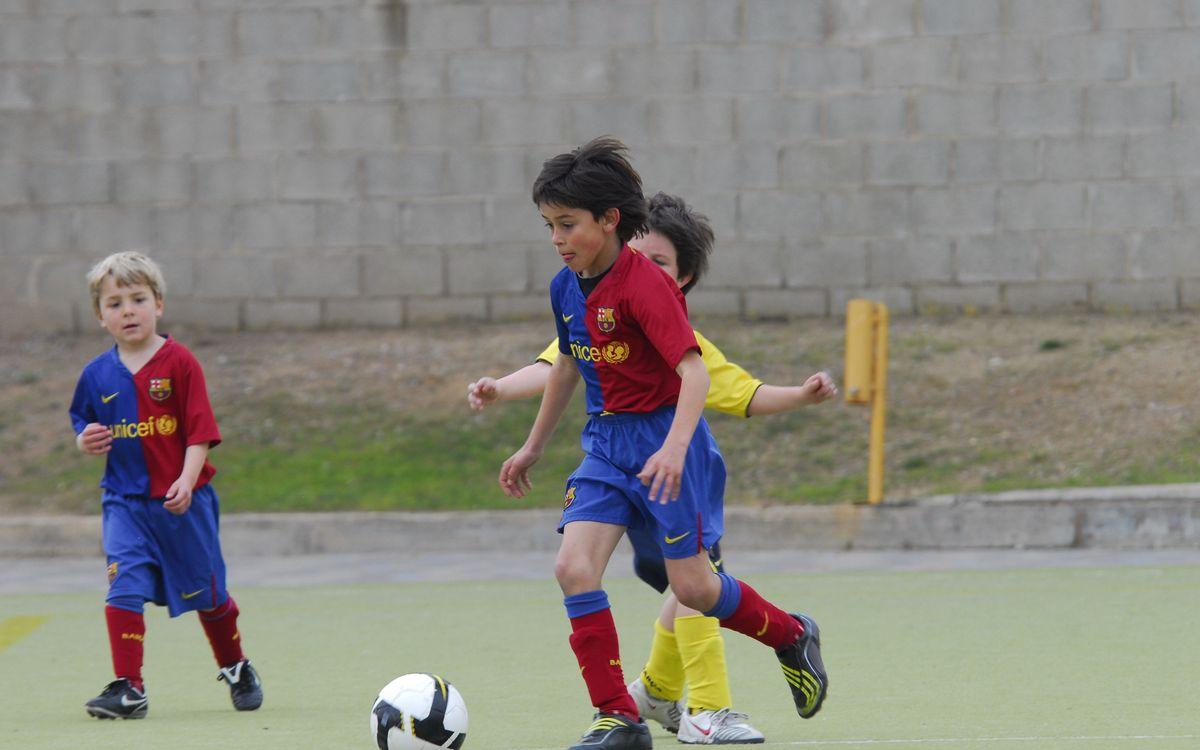 Eric Garcia's time at Barça Escola