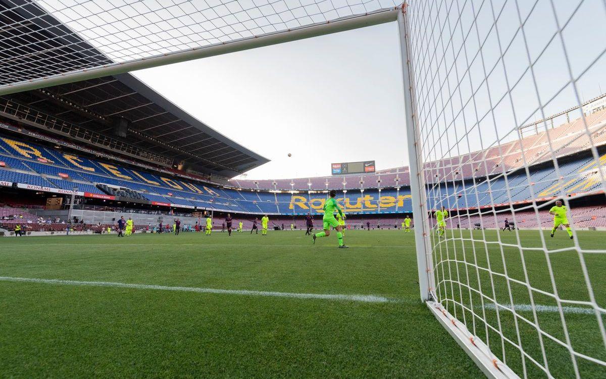 Volver a jugar y por la puerta grande: el Camp Nou