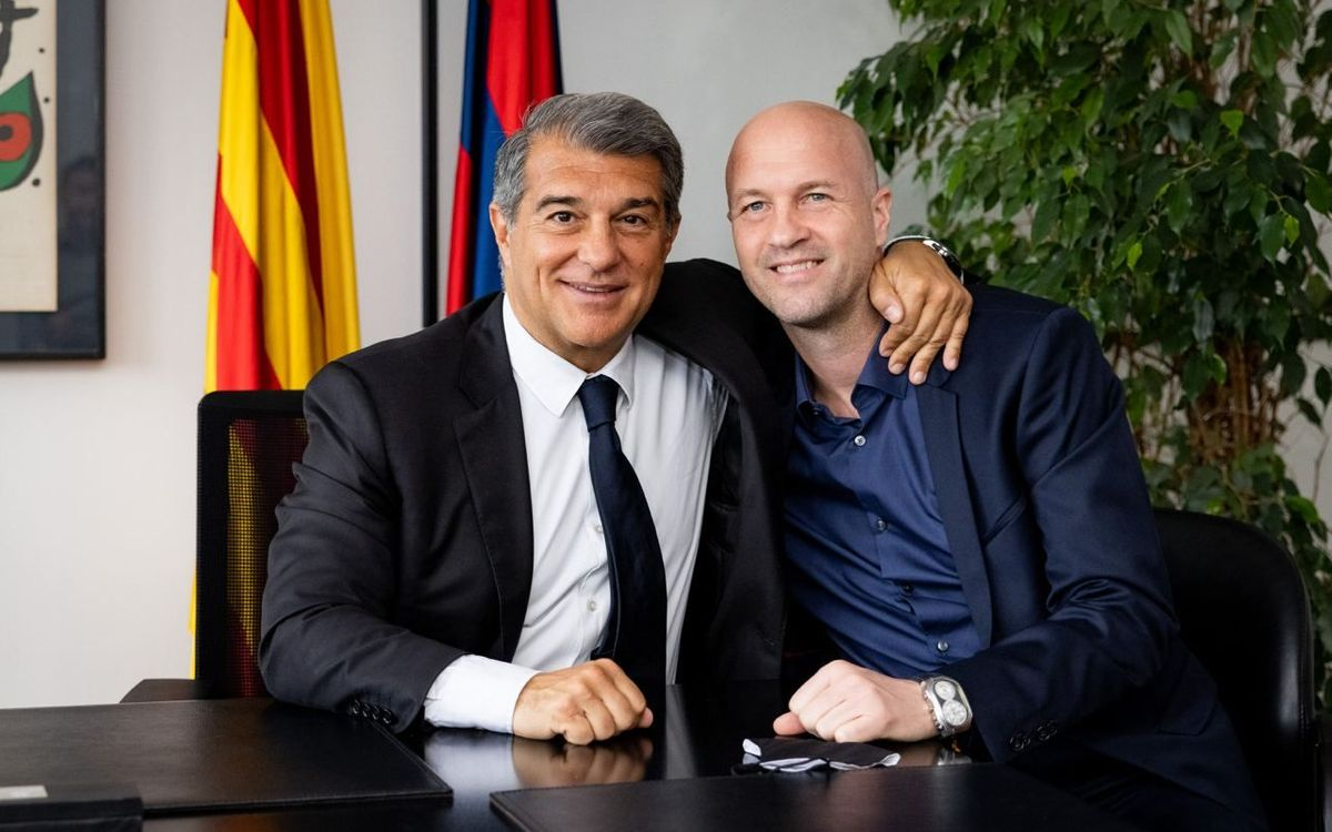 Jordi Cruyff to join the football area of the Club as of August 1