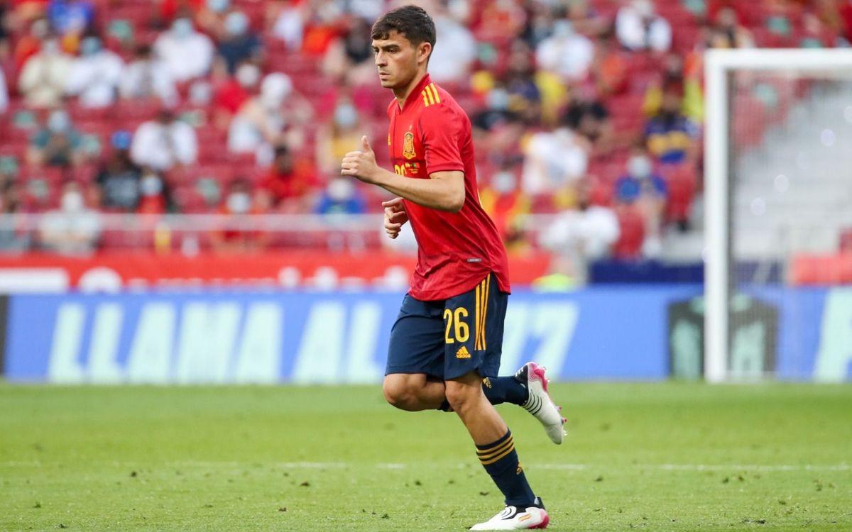Pedri, el debutante más joven con España en una Eurocopa