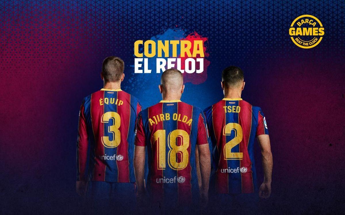 Descubre el nombre oculto de los jugadores del FC Barcelona